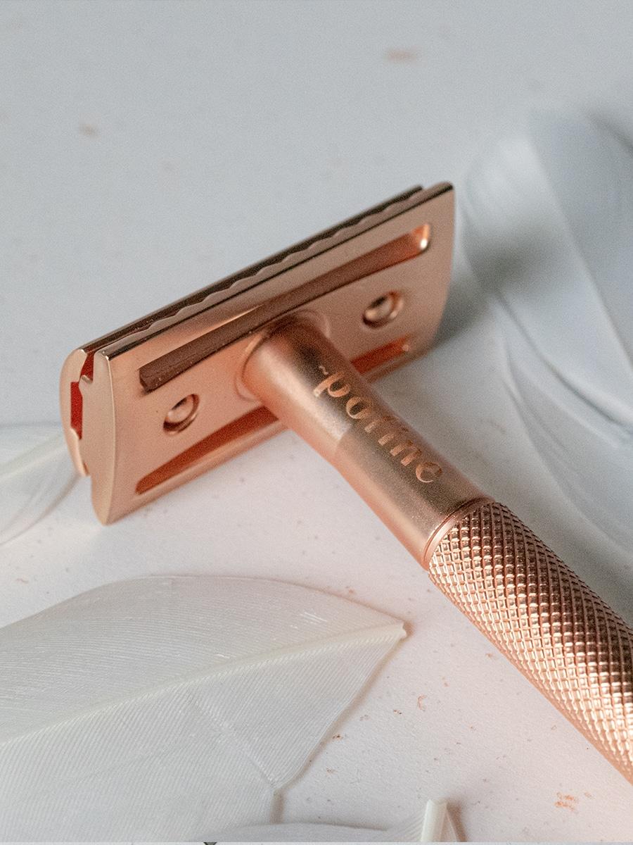 Rasoir de sûreté Pofine / Rose Gold